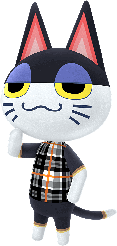 Animal Crossing character Punchy   PNGlib - Free PNG Library